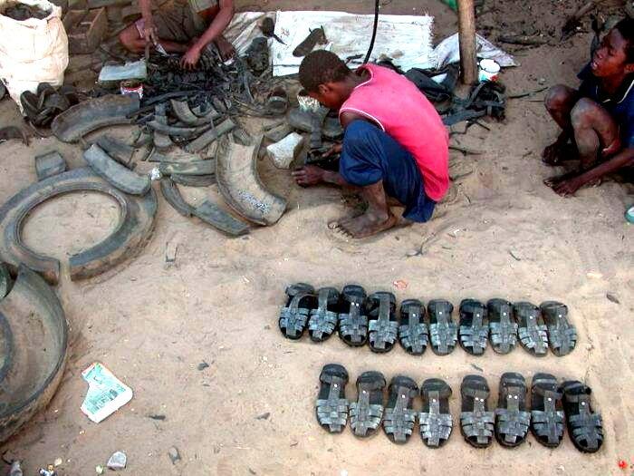 Африканские сандалии