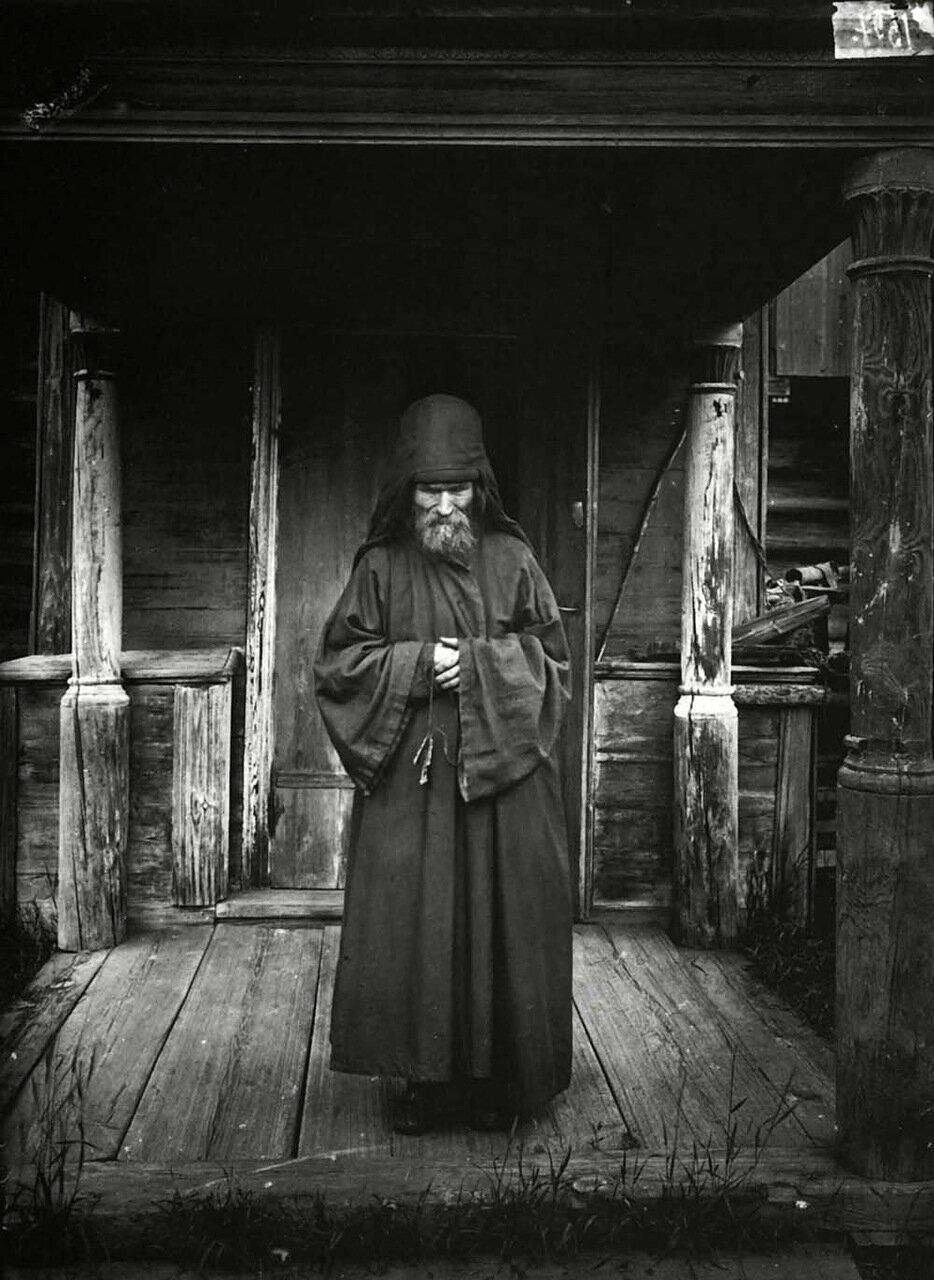 Благовещенский Керженский единоверческий мужской монастырь. Монах-схимник
