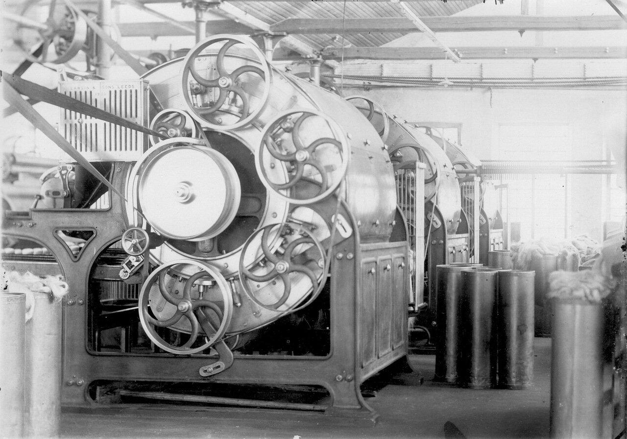 Чёсальные машины фирмы Lawson & Sons