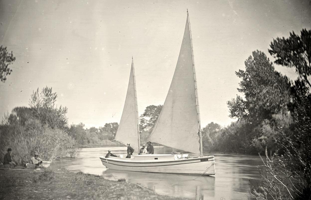 «Нетти», Экспедиция на лодке по реке Траки в западной Неваде. 1867 год