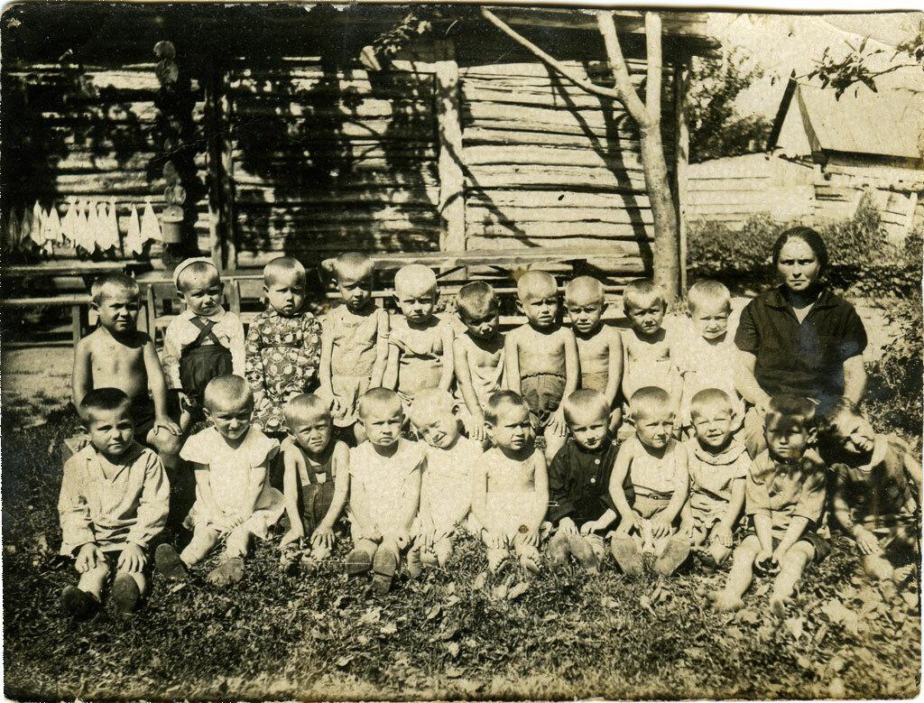 Детский сад. Венёв, около 1935 года