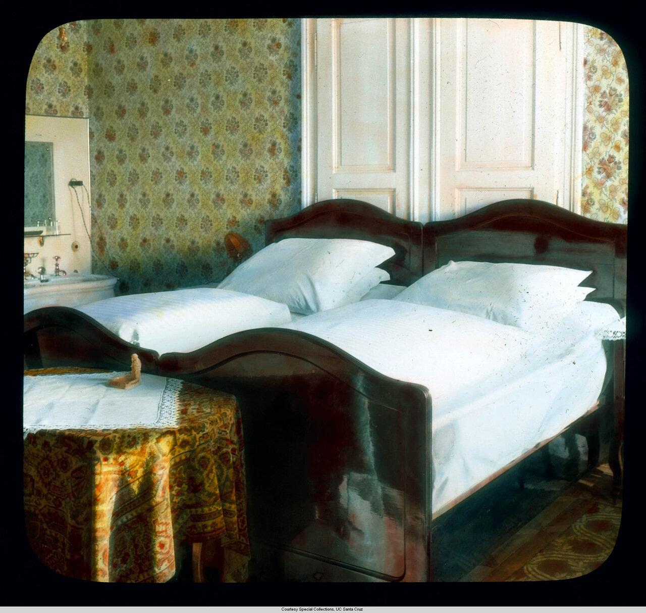 Рейнская долина. Спальня отеля