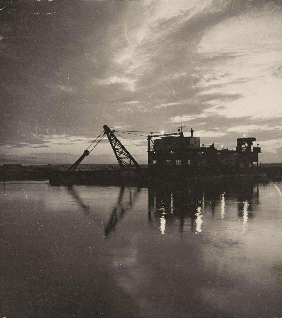 1930-е. Семён Осипович  Фридлянд. Ночь над Волгой
