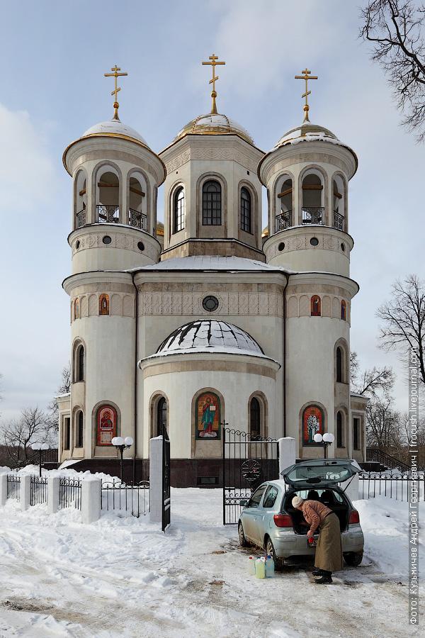Храм Вознесения Господня в Звенигороде