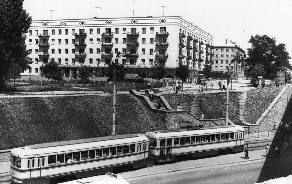 1964.07.17. Брест-Литовское шоссе (современный проспект Победы). Фото: Шамшин К.