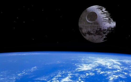 «Death Star-2» above Ground.