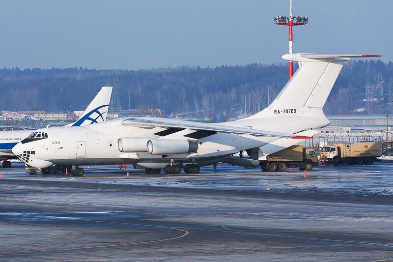 Ильюшин Ил-76ТД (RA-78765) Авиакон Цитотранс DSC6025