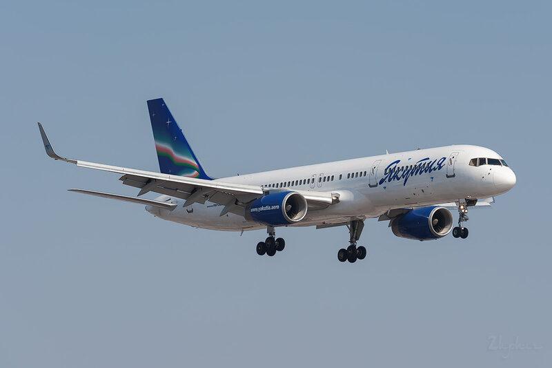 Boeing 757-256 (VQ-BCK) Якутия DSC_9446