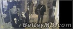 Ограбившего бутик в ТЦ «Mir» в Бельцах сняли на видео