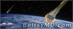 В Америке наблюдали падение метеорита в 13 штатах