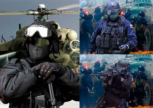 Шаблоны для фотошопа - Спецназовцы 0_c9e5c_dc73f6b8_L