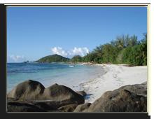 Сейшелы. О.Праслин. Anse Kerlan Beach