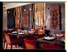 Сейшелы. О. Маэ. Banyan Tree Seychelles. Restaurant Au Jardin dEpices