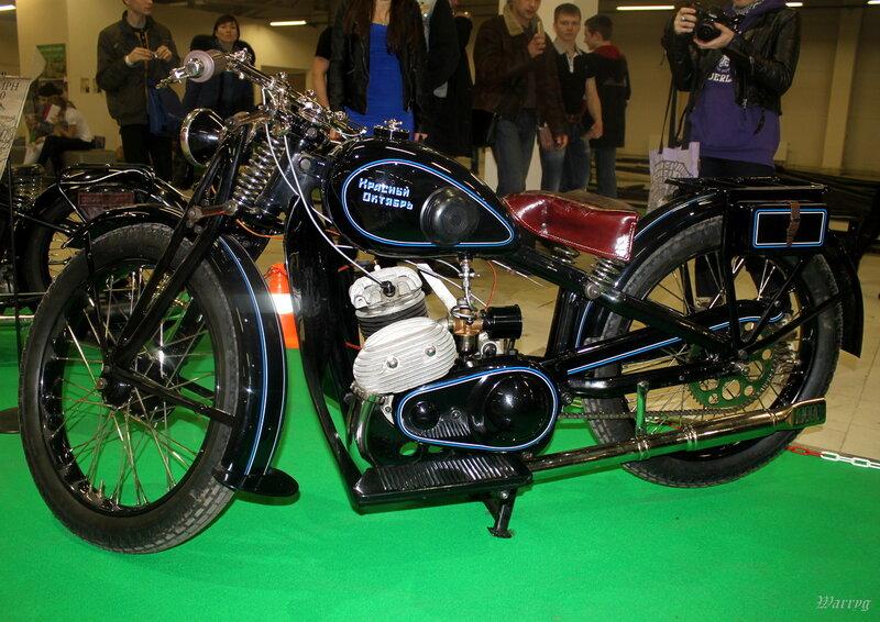 Советский мотоцикл Л-300 «Красный октябрь» 1937 г. в.