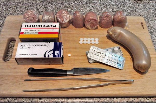 Не ешьте колбасу, найденную на улице 25 января
