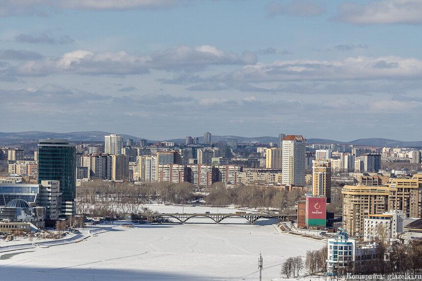 Макароский мост. Екатеринбург.