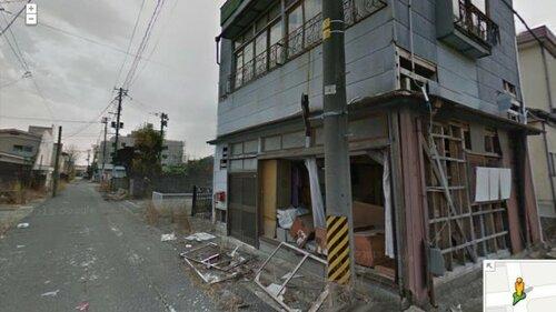 Google разместил в Street View панорамы Фукусимы
