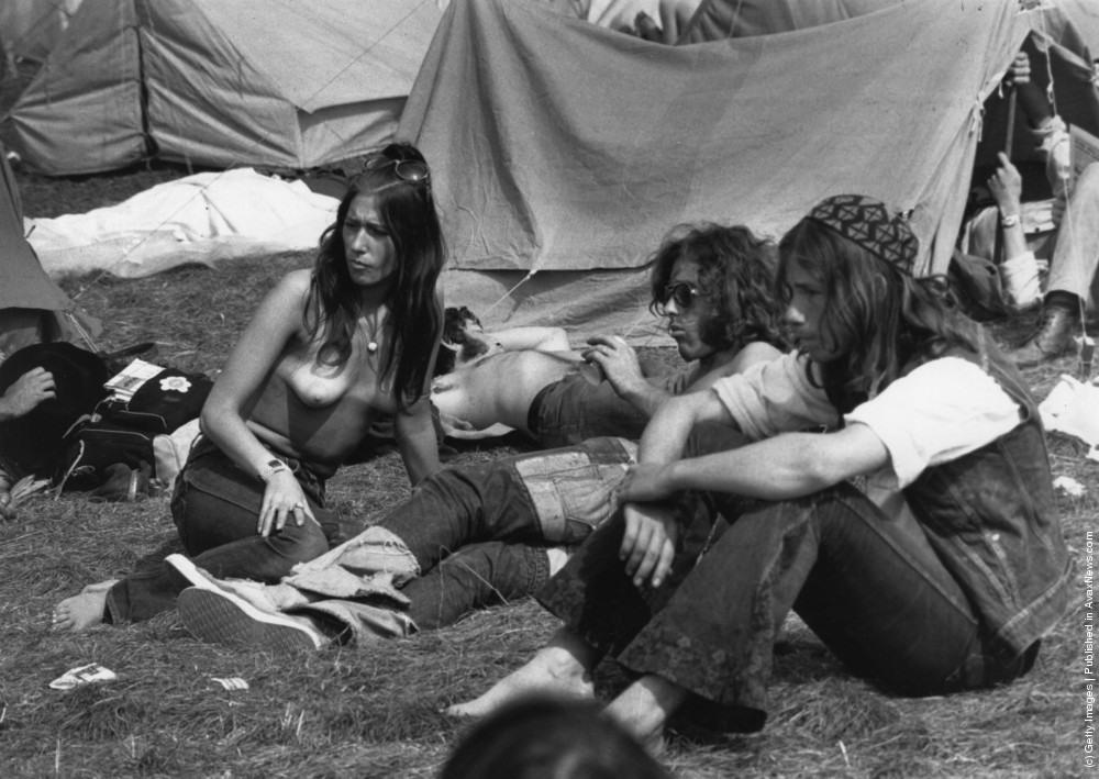 Hidden camera nudist camp