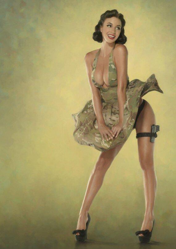 Красивыми групповухи секс фото военных девушек снимется порно