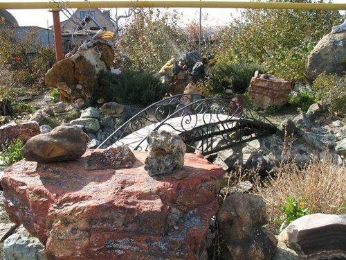 «Музей камня» А.М.Моторы вкоттедже (2006год)