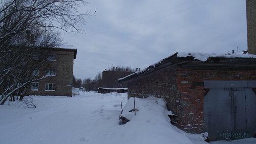 Фотография Инты №2714  Восточная сторона Геологической 4 31.01.2013_13:03