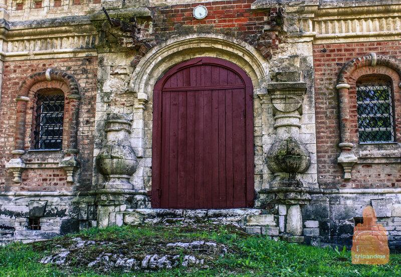 Церковь усадьбы Храповицкого