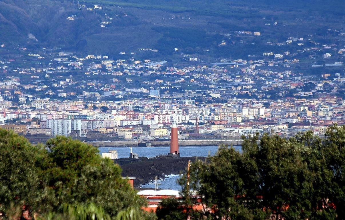 Naples. Views from the terrace of Santa Lucia (Terrazza di Santa Lucia)