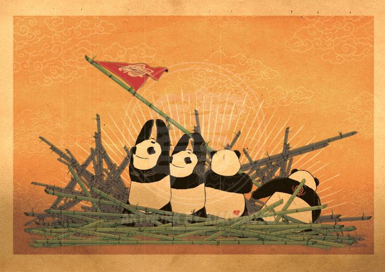 Художник William Chua / Хiaobaosg. Panda Revolution и другиеb50 истории