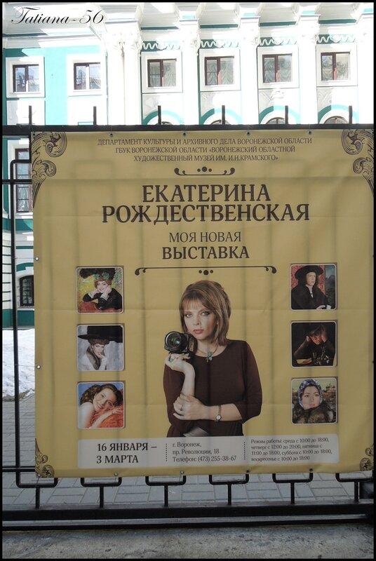 Выставка Екатерины Рождественской в Воронеже