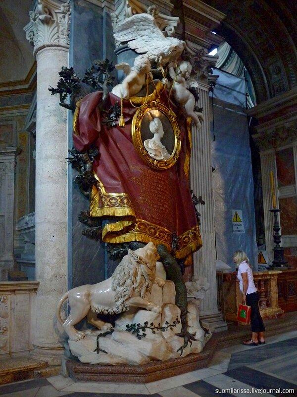 Рим. Церковь Santa Maria del Popolo.