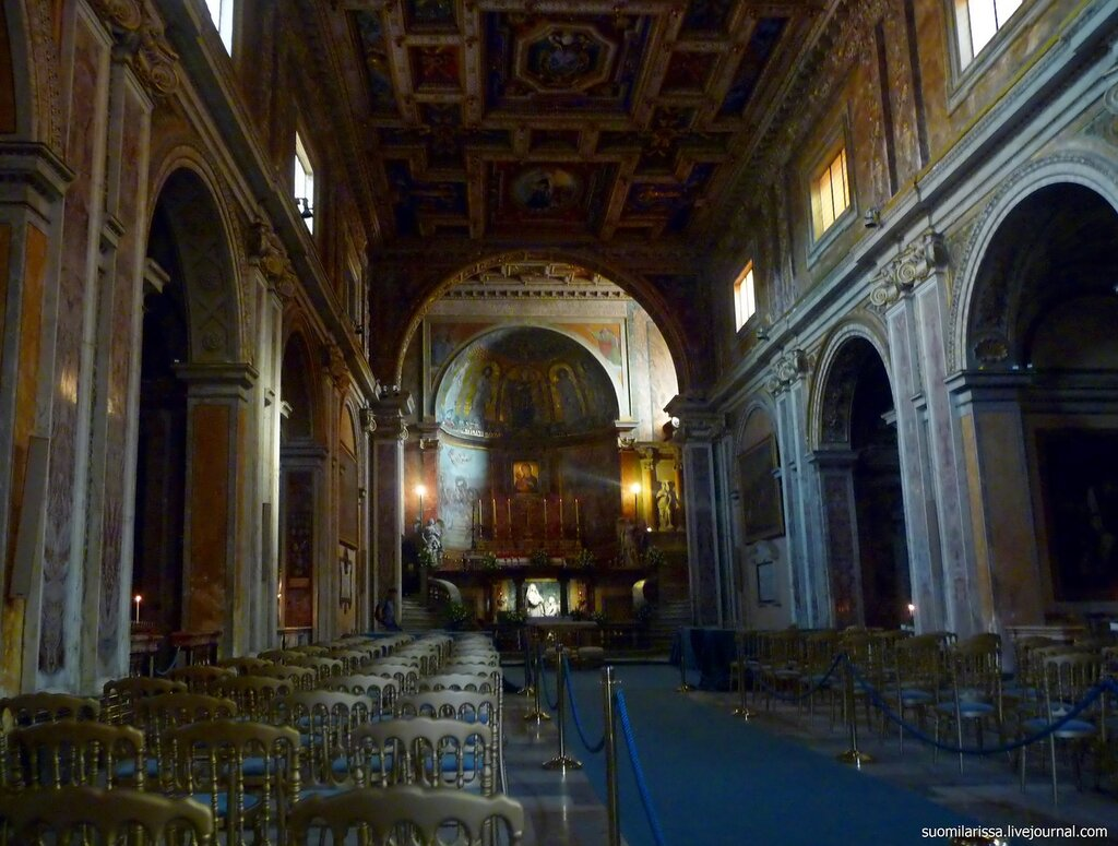 Roma. Chiesa Santa Francesca Romana.