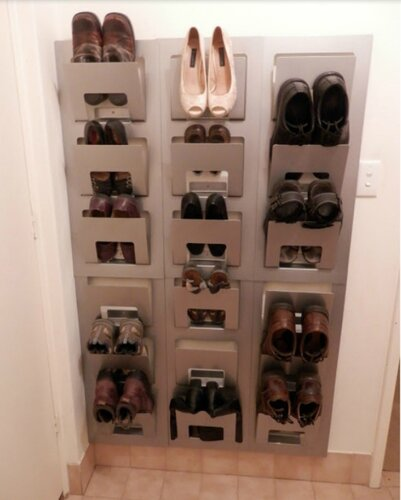 Для обуви тумба своими руками