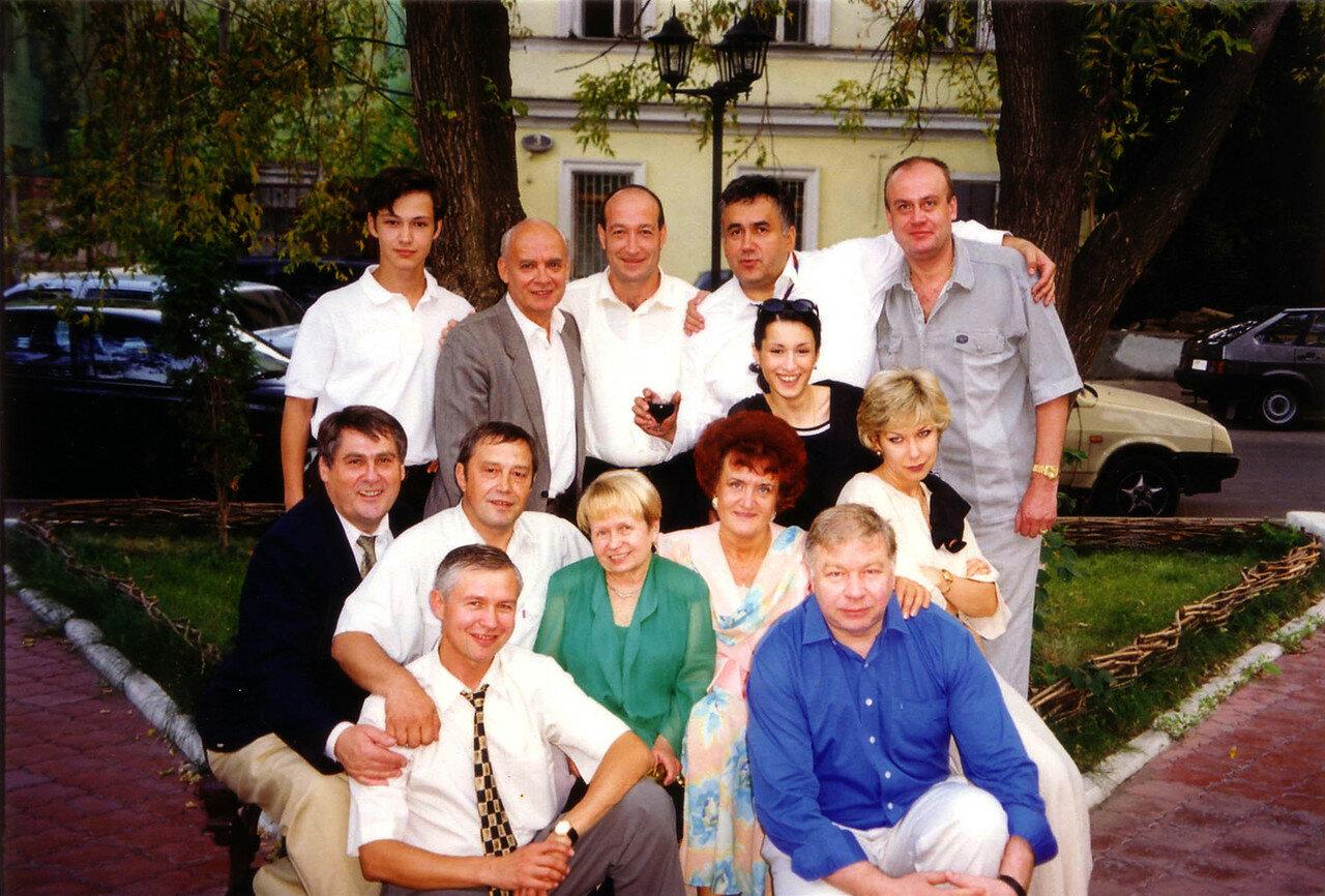 1999, день рождения, Тифлисский дворик