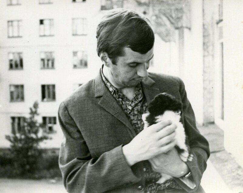 Георгий Бурков. Фото из архива Маши Бурковой.