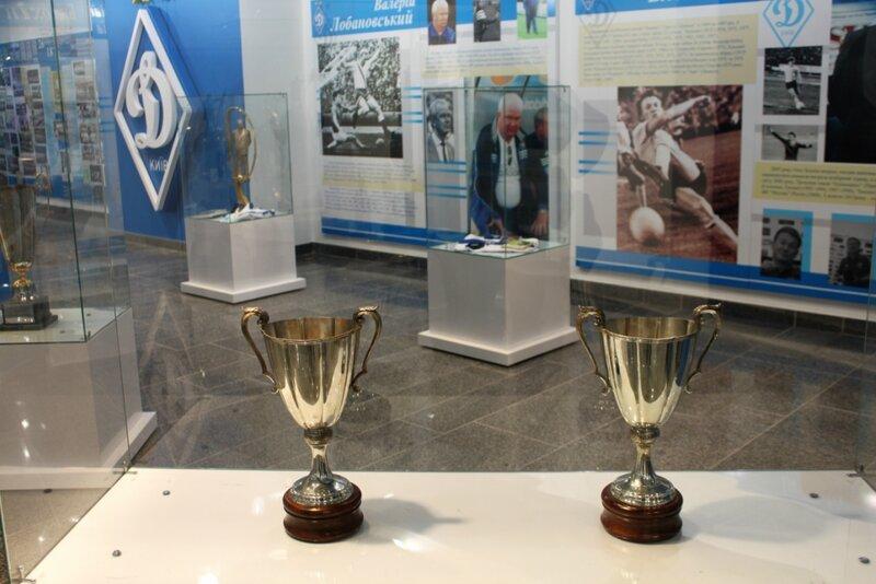 Экспозиция музея Динамо Киев
