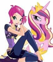 Маленькие Пони на Winx-Land, встречайте девочки!