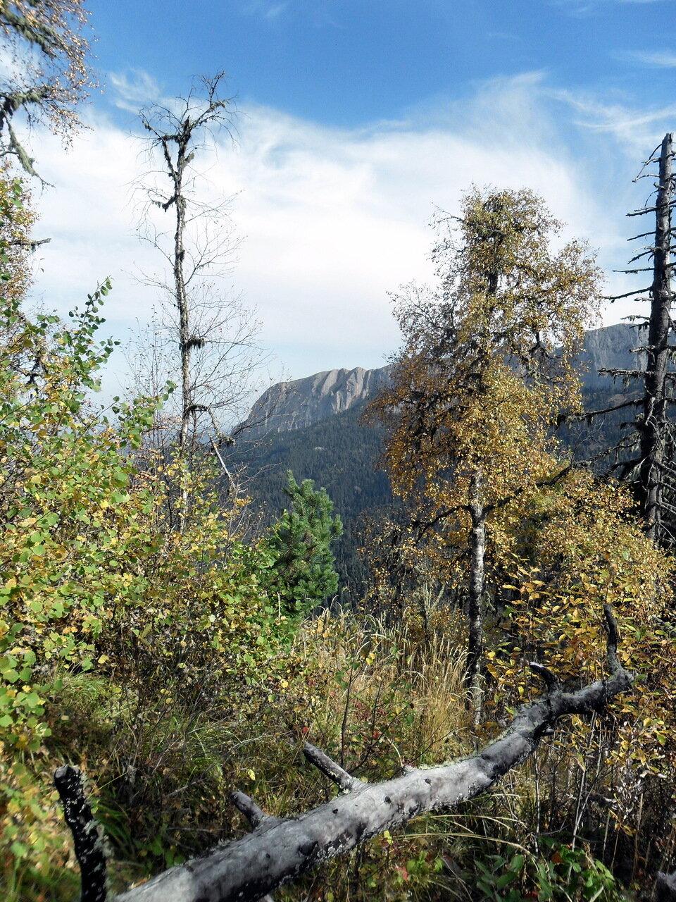 Тхач, тропа туристическая, Кавказ, сентябрь 2012