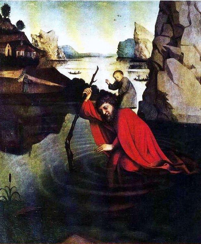 Картины старых мастеров, Конрад Виц, Св. Христофор