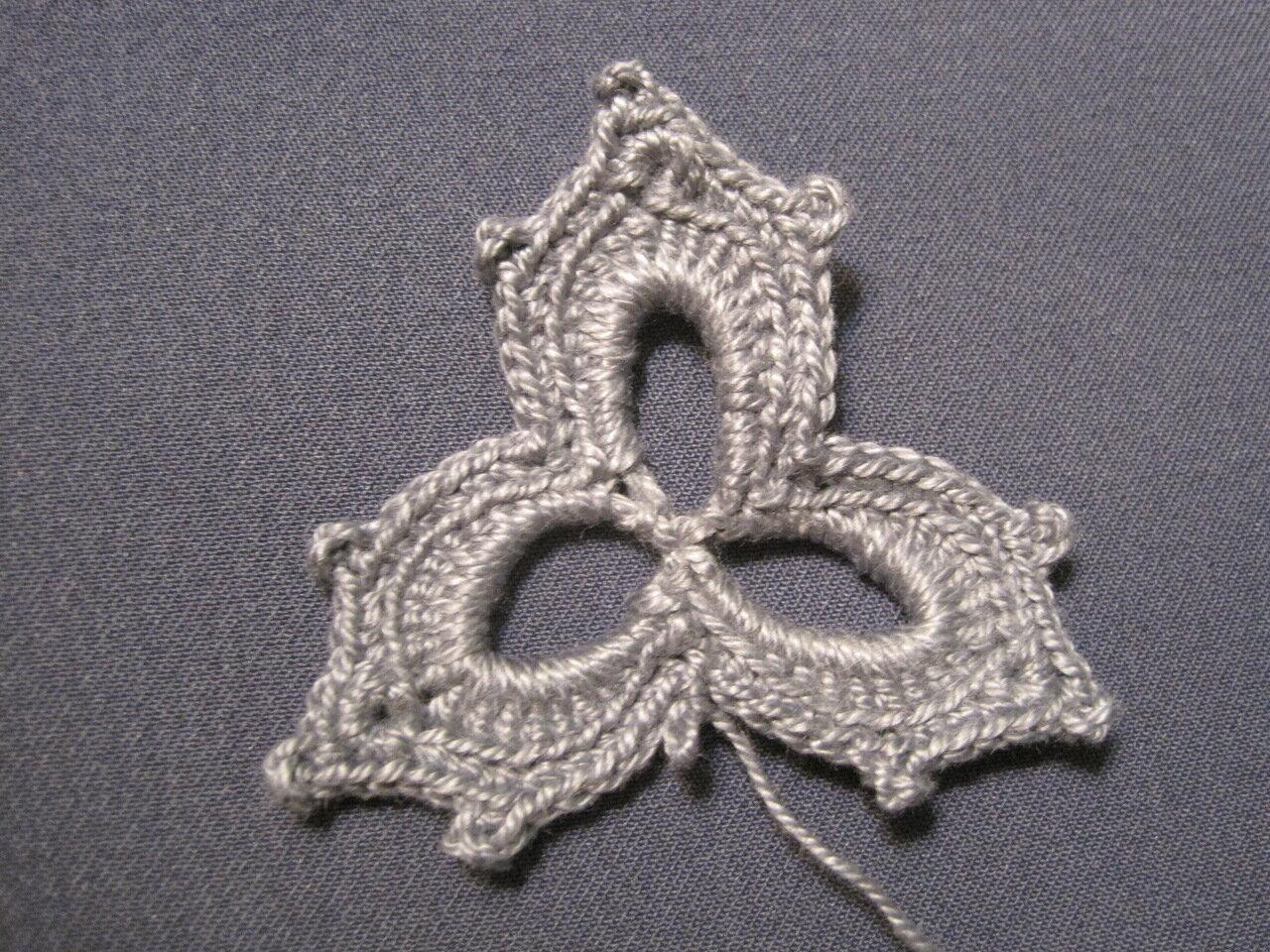 схема для завитка ирландского кружева