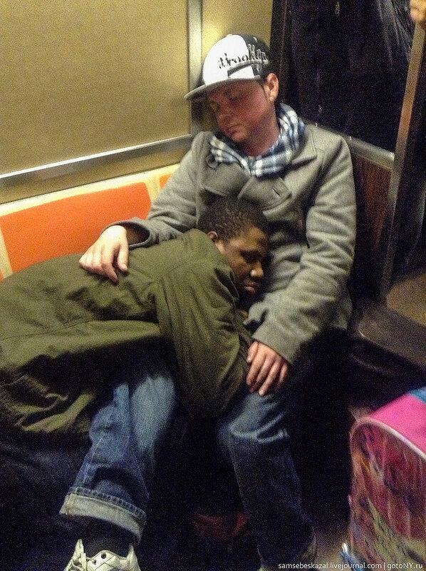 Спят усталые нью-йоркцы