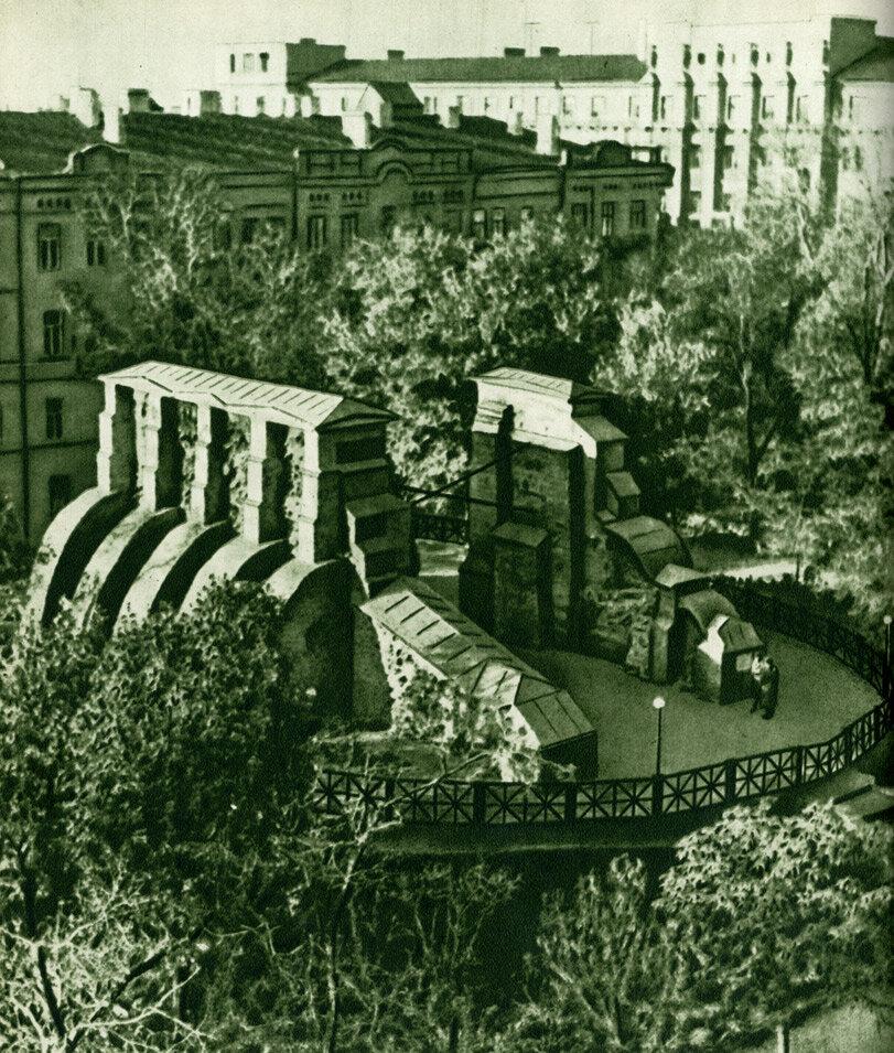 Пам'ятник древнього Києва – Золоті воротa
