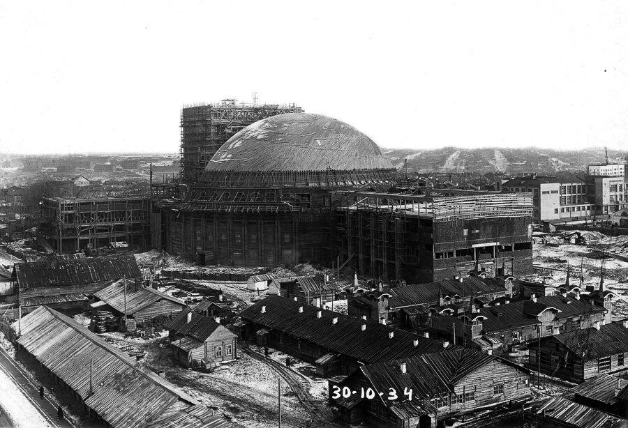 Строительство театра оперы и балета, 30 октября 1934 г.