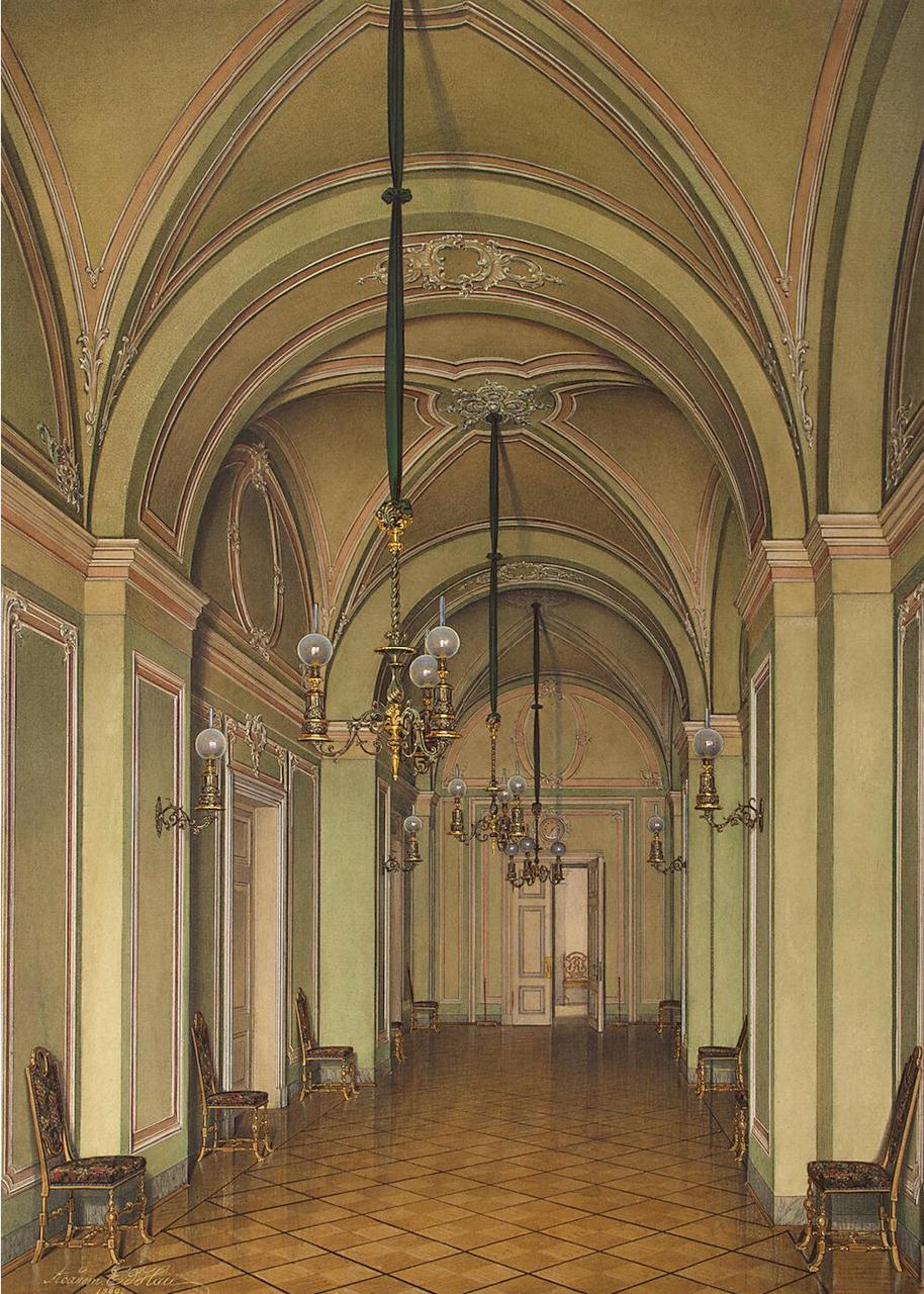 Интерьеры Зимнего дворца. Коридор