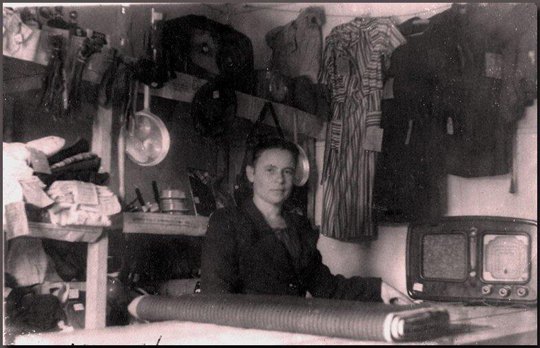 1950-е. Магазин в Нефтегорске.