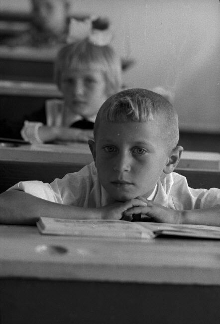 Колхозная школа. Кубань