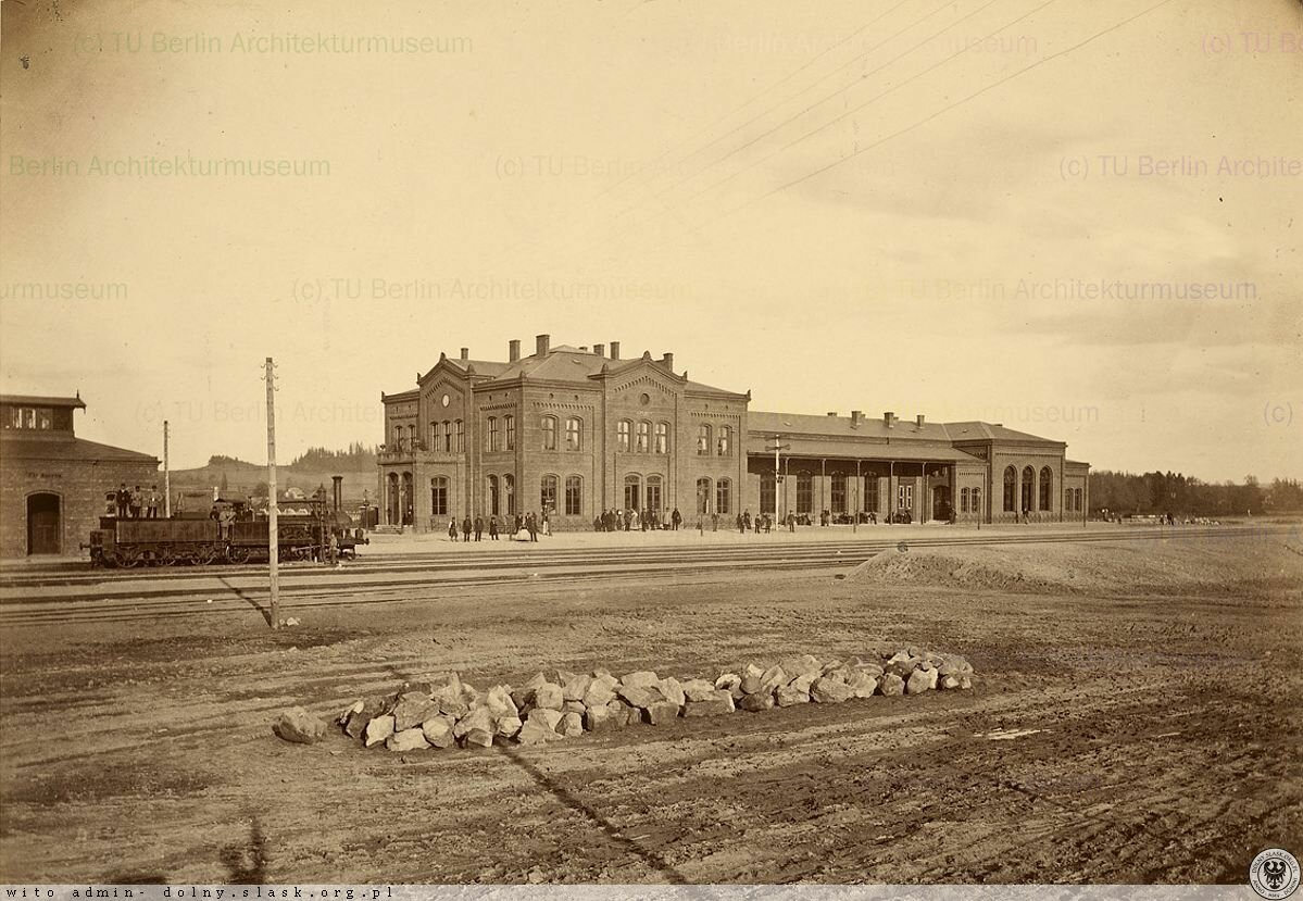 Станция Любань-Сласки. 1865