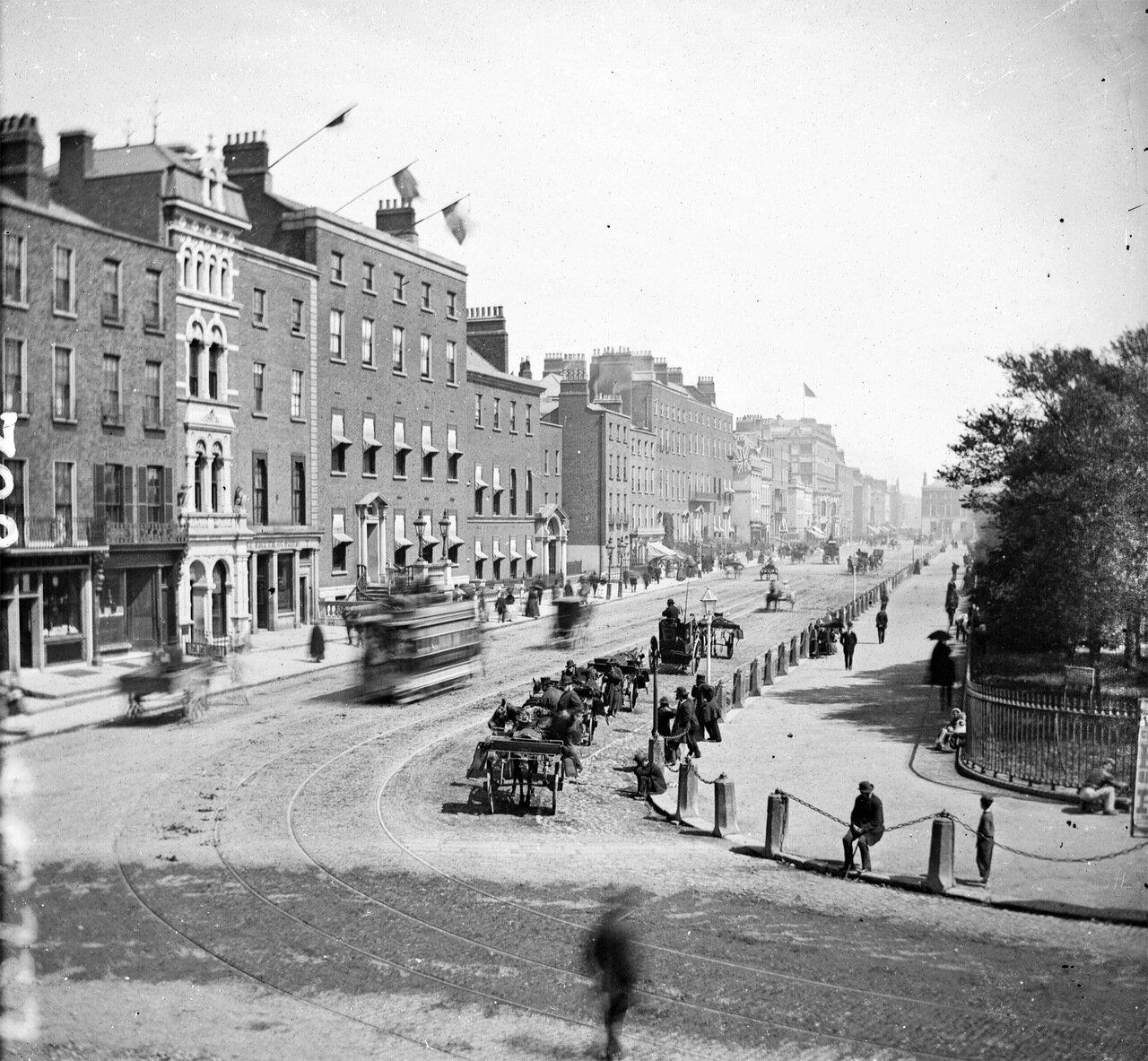 Стивен Грин, Дублин. 1875.