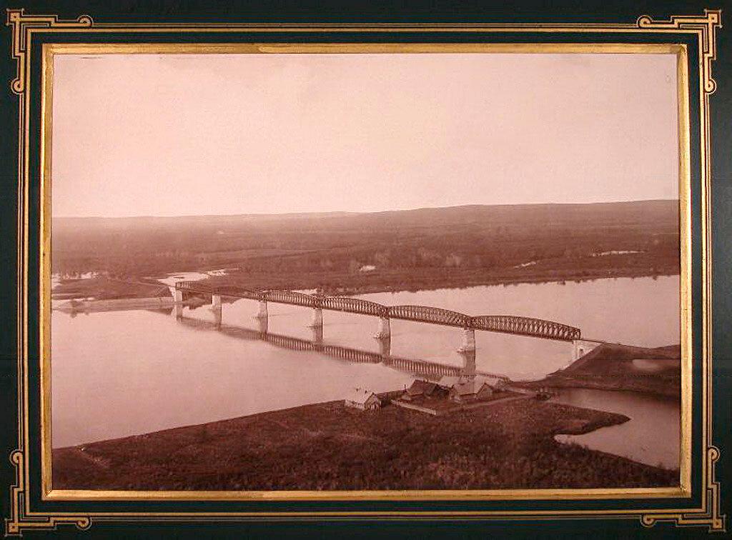 6. Вид моста через реку Белую на 448-й версте.