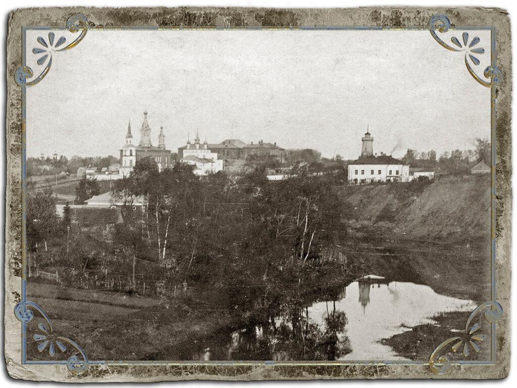 Кашинский Дмитриевский монастырь и полицейское управление