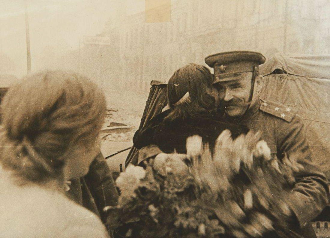 1945. Георгий Маркович Хомзор. Возвращение солдата
